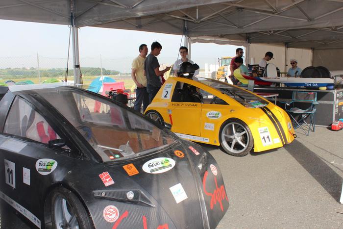 Rendez-vous au Circuit d'Albi pour la 4ème édition de l'Albi Éco Race, compétition réservée aux véhicules électriques, solaires et hydrogène.