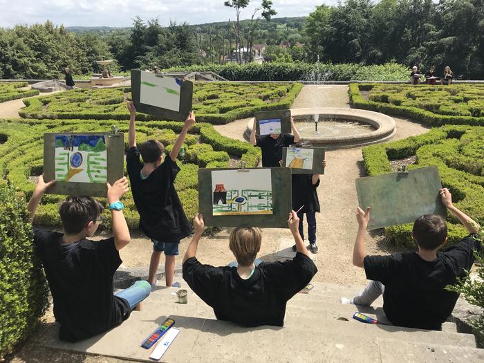 Journées du patrimoine 2019 - Ateliers plein air gratuits pour enfants au château d'Auvers