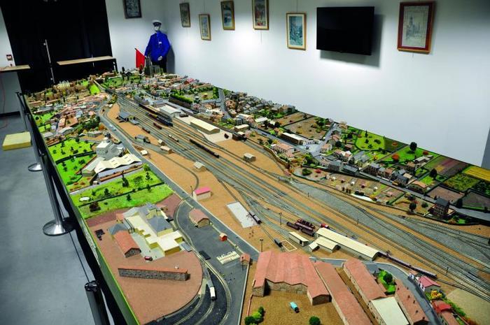 Journées du patrimoine 2019 - Maquette ferroviaire  animée