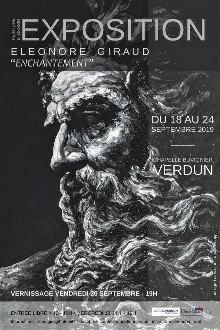 Journées du patrimoine 2019 - Exposition d'Éléonore Giraud et ateliers créatifs
