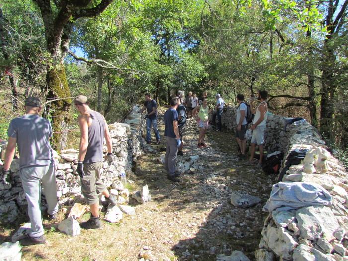 Journées du patrimoine 2019 - Initiation à la technique de la pierre sèche : mur de soutènement et de clôture
