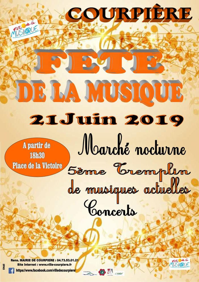 Fête de la musique 2019 - Plateau musical et tremplin de musiques actuelles