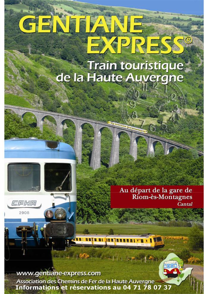 Journées du patrimoine 2019 - Train touristique Gentiane Express