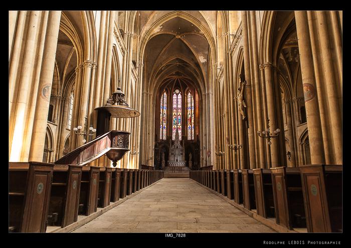 Journées du patrimoine 2019 - Visites guidées - À la découverte de la Basilique Saint-Vincent