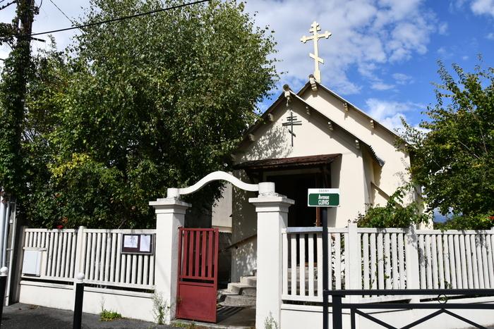 Journées du patrimoine 2019 - Visite guidée de l'église orthodoxe Saint-Séraphim de Sarov