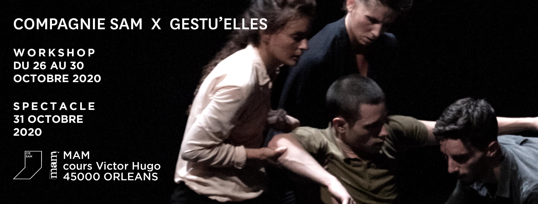 Danse contemporaine: Cie SAM / Gestu'elles à la MAM d'Orléans - 2ème édition
