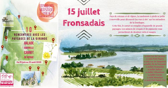 Itinérance Artistique :  Le Tour de la Gironde au Pinceau