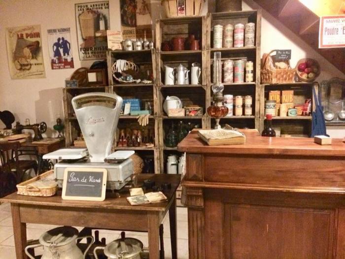 Journées du patrimoine 2019 - Fonvérines autrefois : aperçu du château et visite d'un bistrot-épicerie des années 40