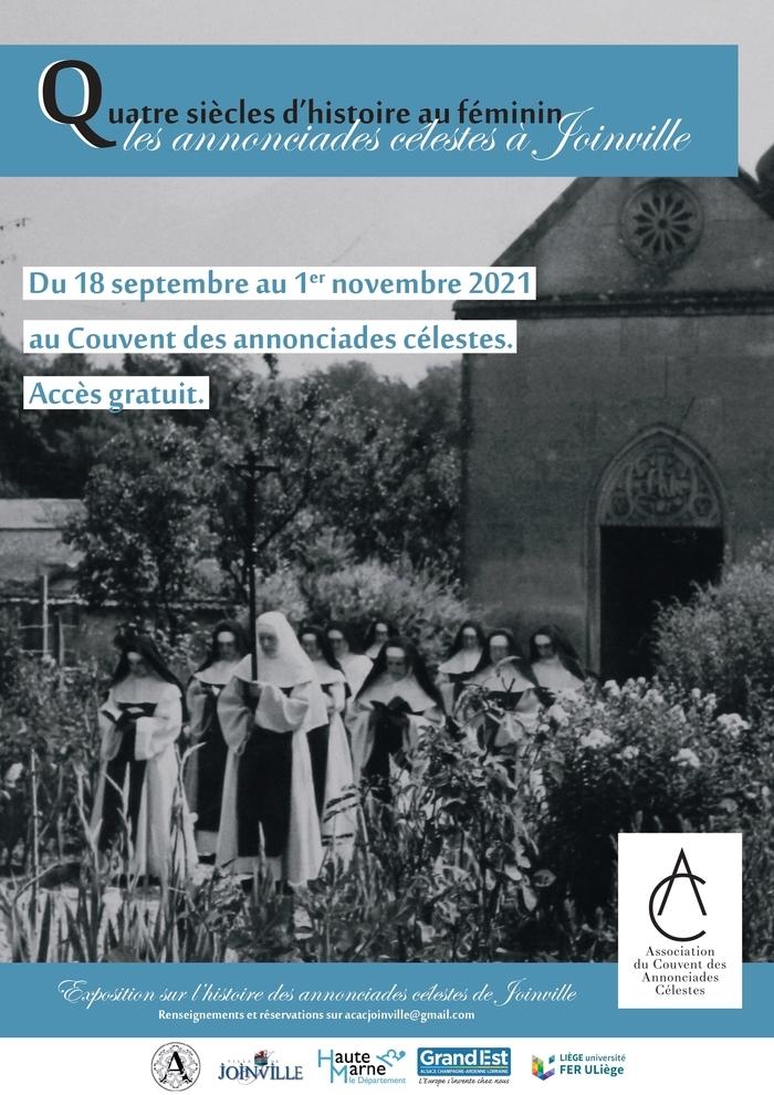 Quatre siècles d'histoire au féminin : les annonciades célestes de Joinville (1621-2021)