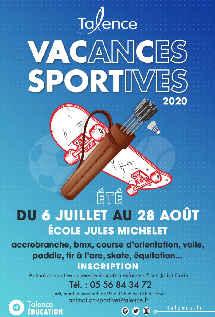 Vacances Sportives d'été