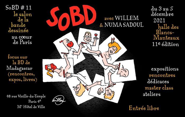 11e édition du salon dédié à la bande dessinée contemporaine.