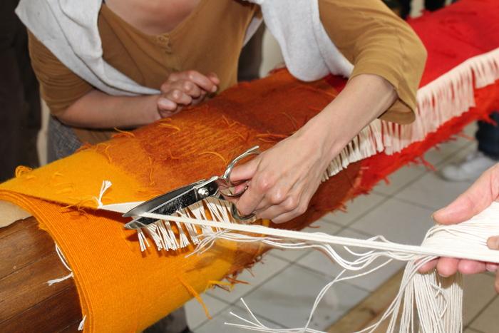 Journées du patrimoine 2020 - Dévoilement au public de la tapisserie