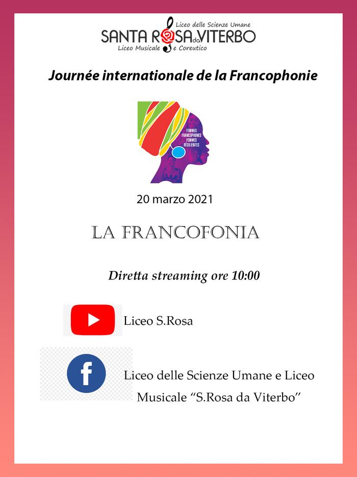 Nous allons parler de la  Francophonie avec deux invités spéciaux, l'un d'Avignon et l'autre de Mayotte, le tout entrecoupé de pièces musicales du répertoire classique français.