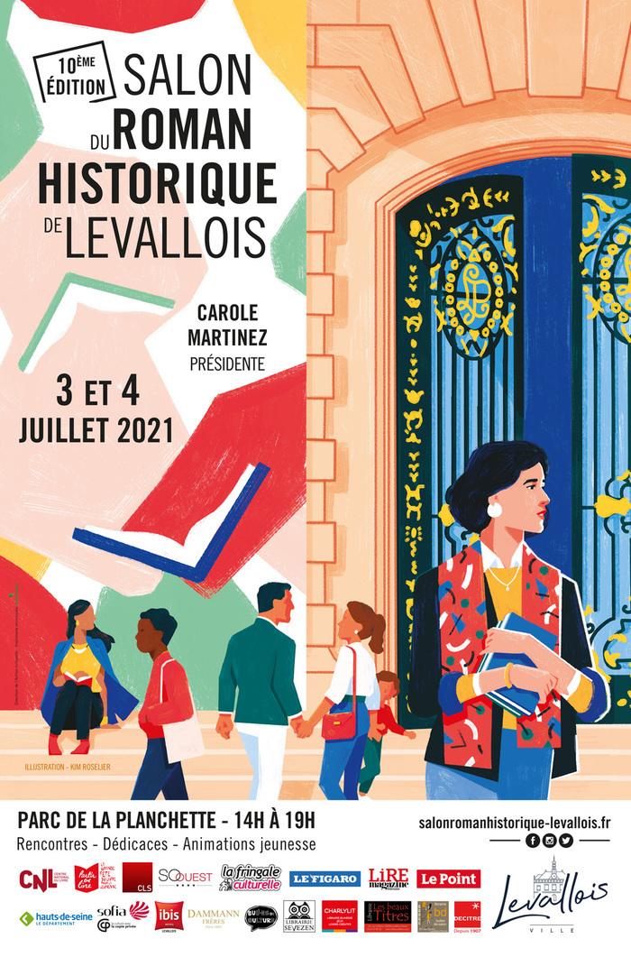 2 JOURNÉES POUR UNE 10E ÉDITION HISTORIQUE ! En quelques éditions, le Salon du Roman Historique de Levallois s'est imposé dans le calendrier des manifestations littéraires dédiées à l'Histoire.