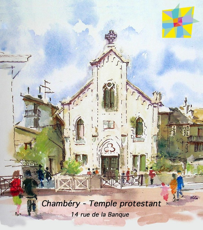Journées du patrimoine 2020 - Visite portes ouvertes du temple protestant de Chambéry et exposé : l'éducation au cœur du protestantisme depuis 500 ans
