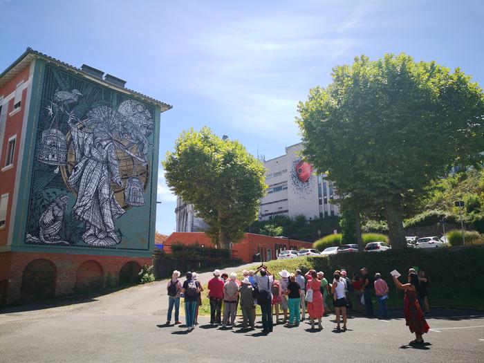 Journées du patrimoine 2020 - Visite guidée du Street Art