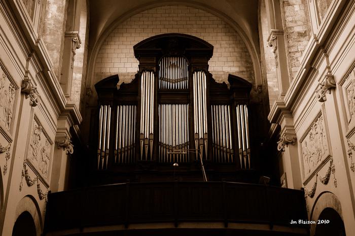 Journées du patrimoine 2020 - Musique dans l'Abbatiale (Orgue)