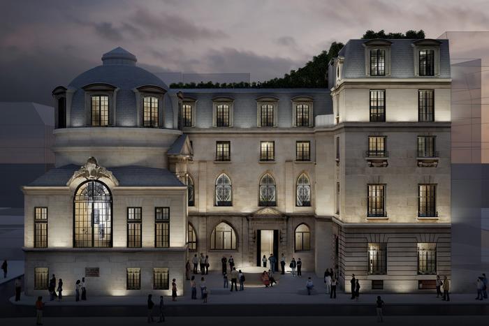 Journées du patrimoine 2020 - ANNULÉ - Visite guidée du Philanthro-Lab, dans l'ancien Hôtel de la Bûcherie
