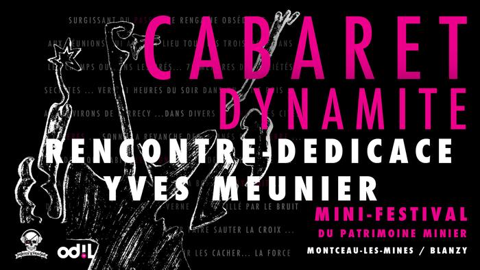 Journées du patrimoine 2020 - Rencontre-dédicace avec Yves Meunier - Cabaret Dynamite