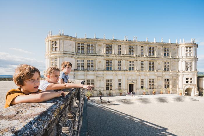 Journées du patrimoine 2020 - Visite libre des extérieurs du château de Grignan