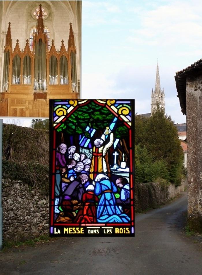 Journées du patrimoine 2020 - Découverte de l'église Notre-Dame de Rocheservière, son orgue et ses vitraux