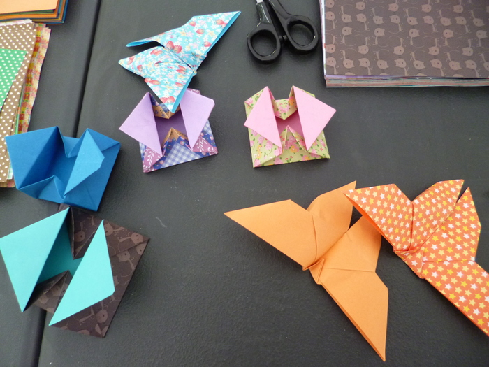 Journées du patrimoine 2019 - Atelier d'origami