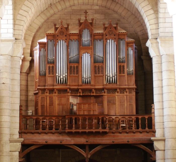 Journées du patrimoine 2019 - Visite des orgues de l'église Saint-Hilaire de Poitiers
