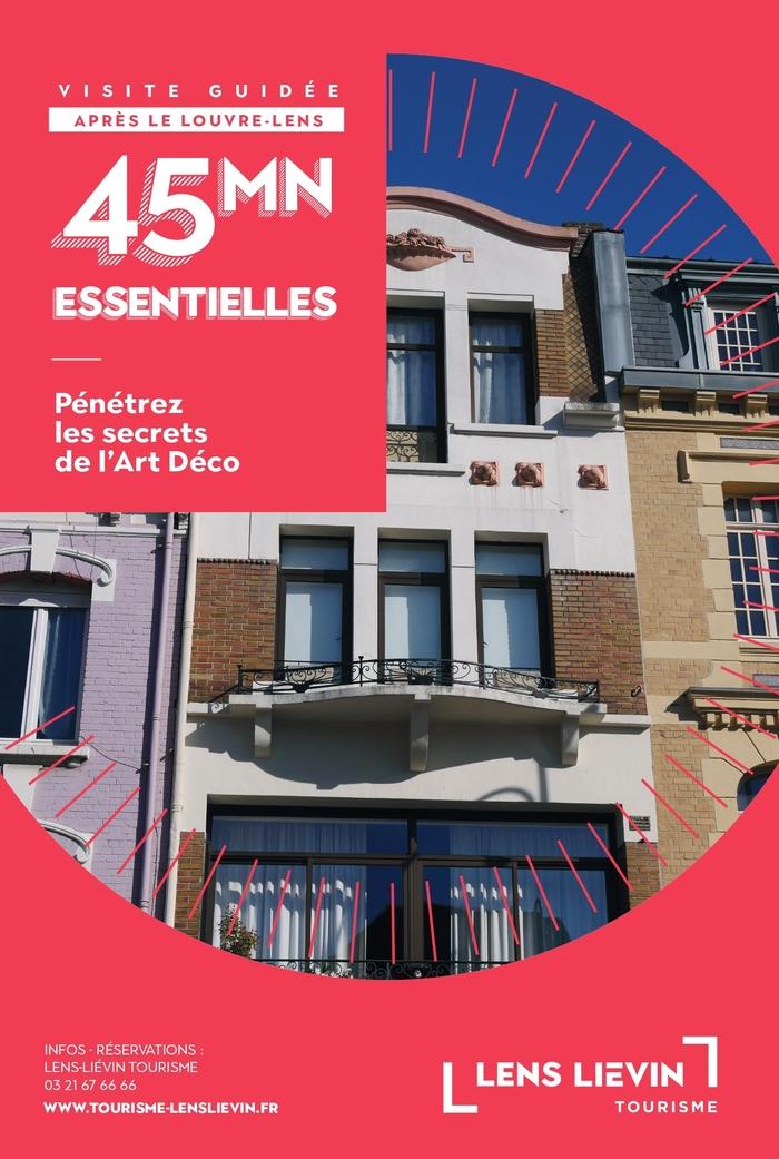 Journées du patrimoine 2020 - Visite essentielle, l'Art déco à Lens