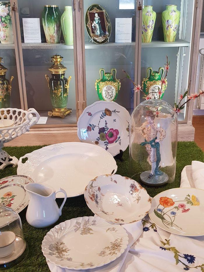 Journées du patrimoine 2020 - Atelier décor de porcelaine au musée céramique