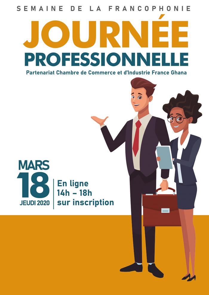 Journée de conseils professionnels en français : rédaction d'un CV, d'une lettre de motivation, conseils pour des entretiens d'embauche, en présence de représentants de grandes entreprises
