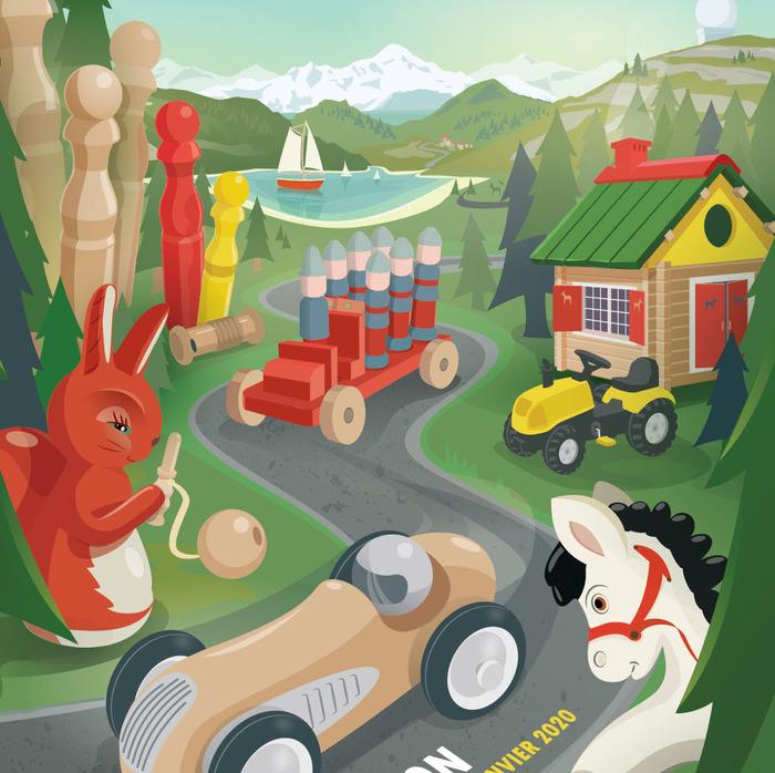 Journées du patrimoine 2019 - Jouets des montagnes du Jura