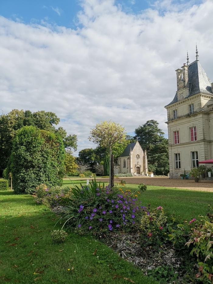 Journées du patrimoine 2020 - Visite de la chapelle et le parc, Château de la Galoisiere