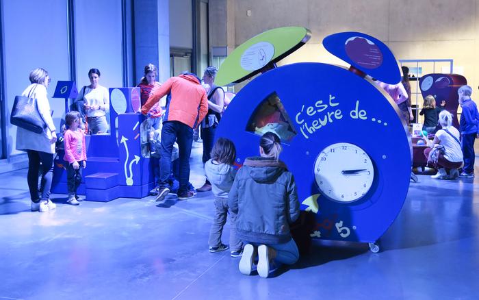 Nuit des musées 2019 -Exposition Tic Tac Temps pour les 3-6 ans