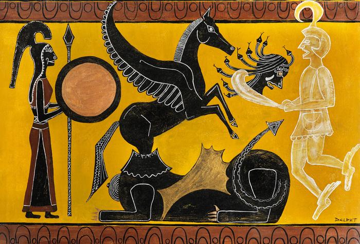 Journées du patrimoine 2020 - Récit du mythe de Pégase