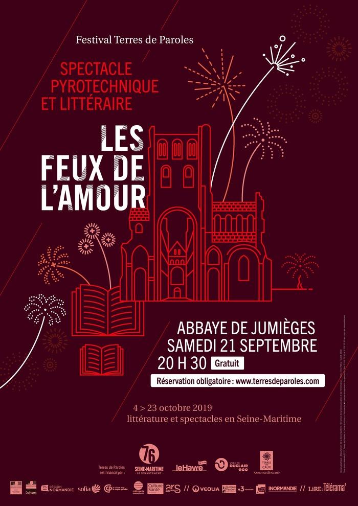 Journées du patrimoine 2019 - Spectacle pyrotechnique et littéraire : Les Feux de l'Amour