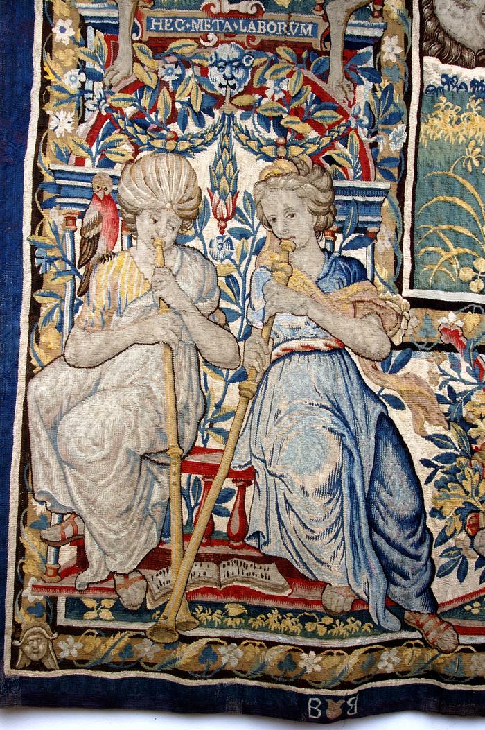Journées du patrimoine 2020 - Présentation des ornementations des tapisseries du sacre d'Henri IV