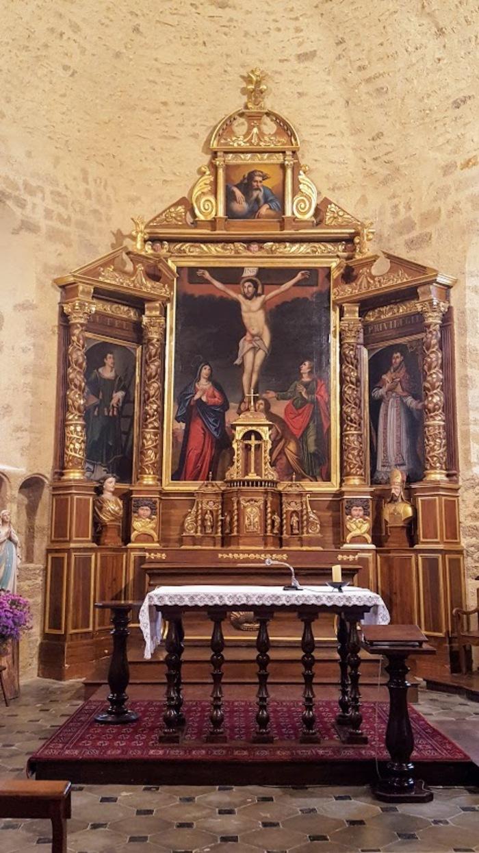 Journées du patrimoine 2019 - Visite libre d'une église fortifiée du XIIe siècle