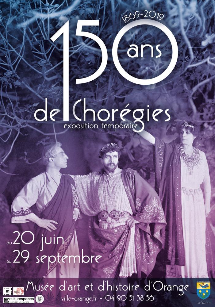 Journées du patrimoine 2019 - Exposition temporaire 150 ans de Chorégies