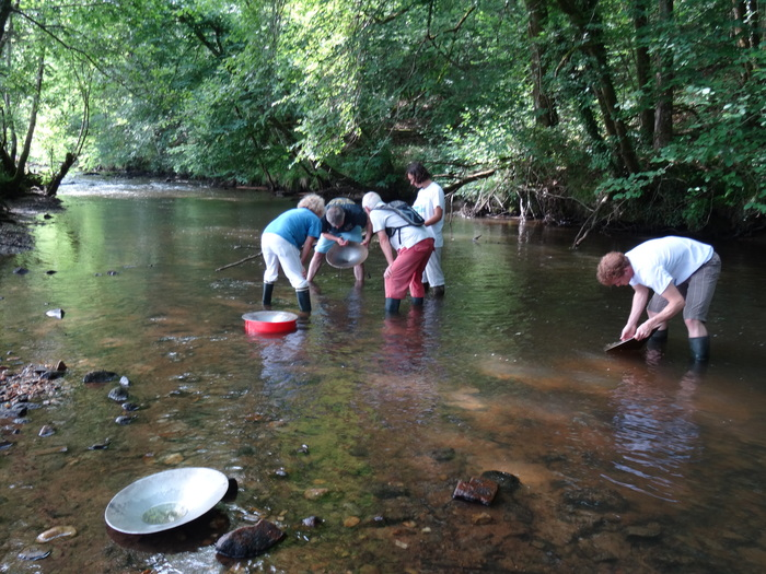 Journées du patrimoine 2020 - Orpaillage en rivière : à la découverte de l'Or en Limousin !