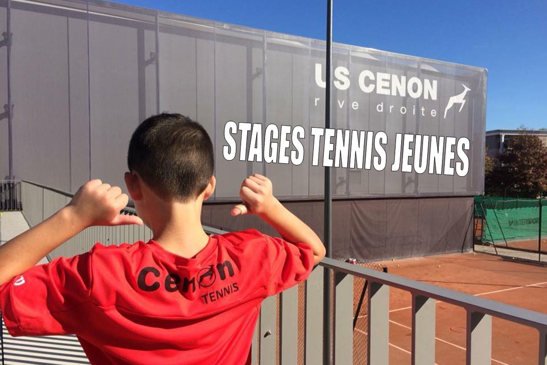 Stages de tennis jeunes tous niveaux