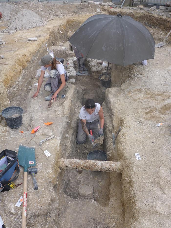 Journées du patrimoine 2019 - Archéologie de la vie quotidienne dans les tranchées rémoises