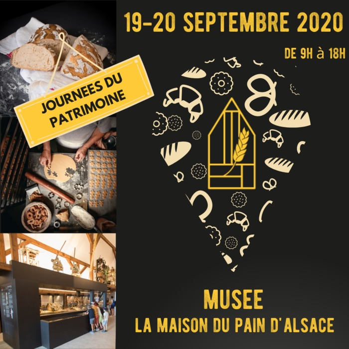 Journées du patrimoine 2020 - Visite libre de la Maison du pain d'Alsace