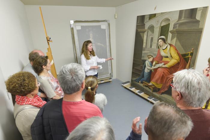 Journées du patrimoine 2019 - Visite guidée de l'atelier de restauration d'oeuvres d'art