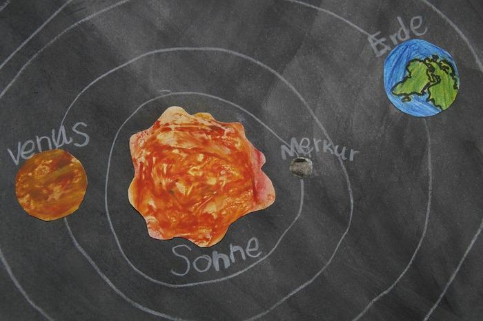 """Journées du patrimoine 2019 - Fresque murale """" Dessine-moi un système solaire """""""