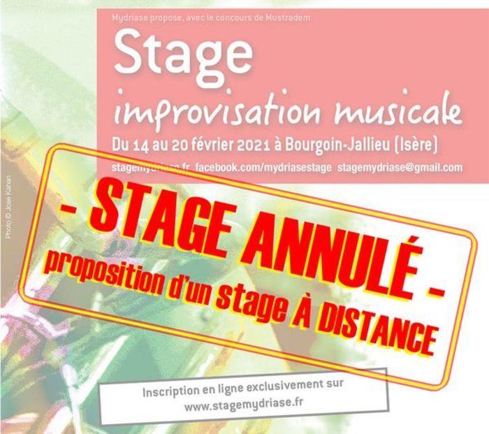 [ANNULE] <strike>Stage - improvisation musicale</strike>