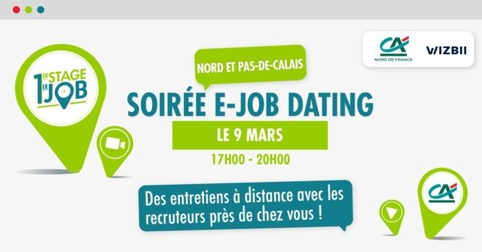 E-Job Dating Nord & Pas-de-Calais : décrochez un emploi dans votre région