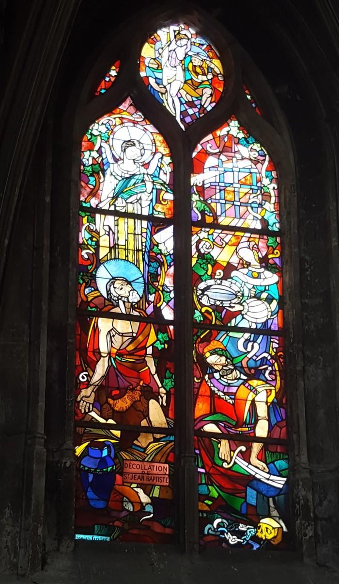 Journées du patrimoine 2020 - Découverte des vitraux de la Basilique Saint-Jean-Baptiste de Chaumont
