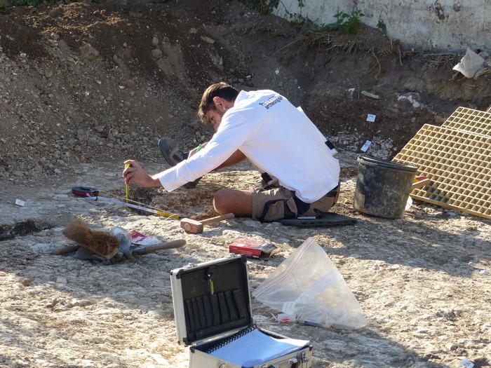 Journées du patrimoine 2020 - Portes ouvertes sur un chantier archéologique de l'Inrap dans le secteur de la clinique Richelieu