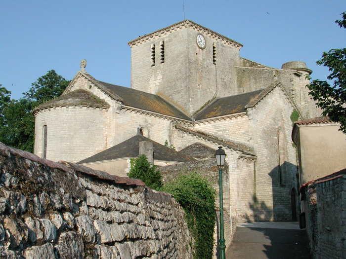 Journées du patrimoine 2020 - Visite Guidée de l'Eglise d'Angles et sa Crypte