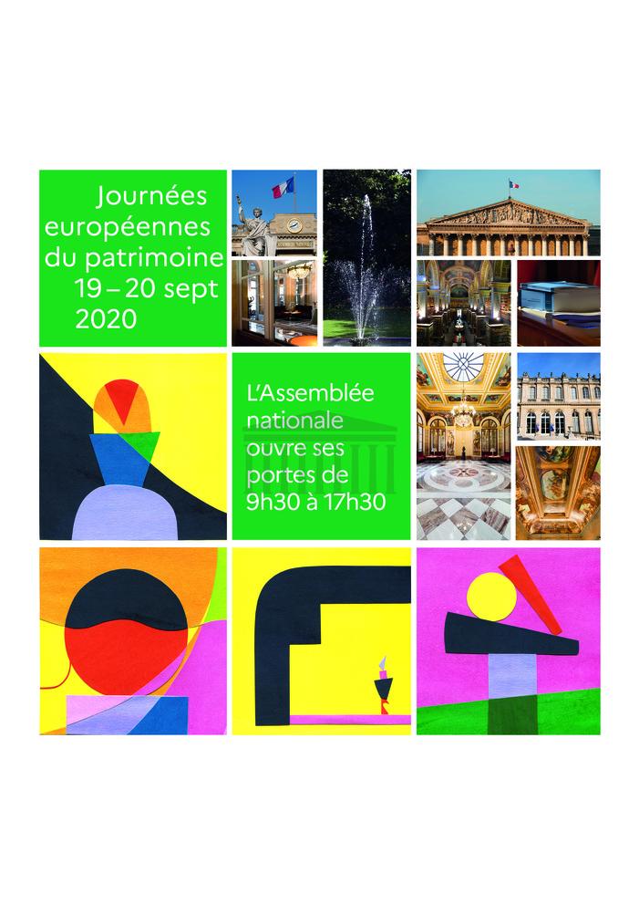 Journées du patrimoine 2020 - Circuit à l'Assemblée nationale - Sur inscription